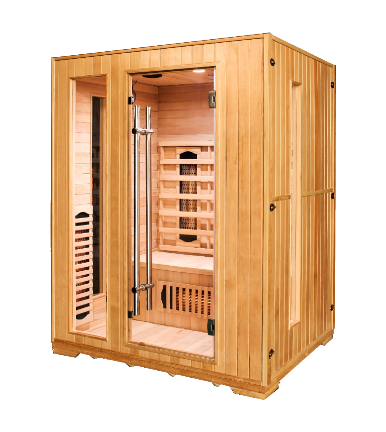 Sauna Infrared Modena Maxi trzy osobowa
